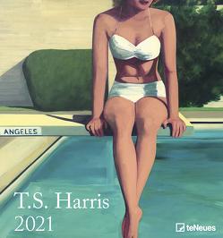 T.S. Harris 2021 – Kunst-Kalender – Wand-Kalender – 45×48 von Harris,  T.S.