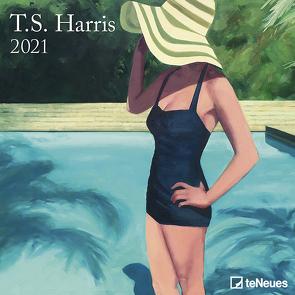 T.S. Harris 2021 – Wand-Kalender – Broschüren-Kalender – 30×30 – 30×60 geöffnet – Kunst-Kalender von Harris,  T.S.