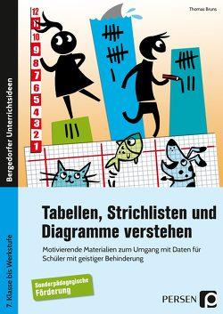 Tabellen, Strichlisten und Diagramme verstehen von Bruns,  Thomas