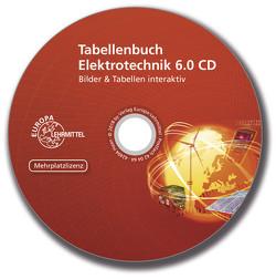 Tabellenbuch Elektrotechnik 6.0 CD Mehrplatzlizenz von Häberle,  Gregor, Krall,  Rudolf, Schiemann,  Bernd