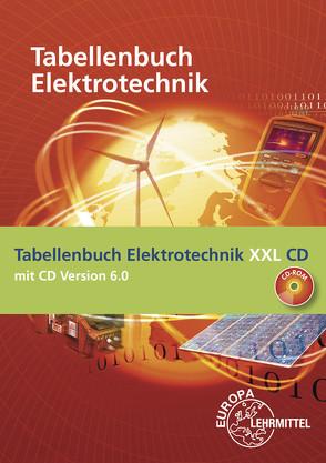 Tabellenbuch Elektrotechnik XXL von Häberle,  Gregor, Häberle,  Heinz O., Isele,  Dieter, Jöckel,  Hans Walter, Krall,  Rudolf, Schiemann,  Bernd, Schmid,  Dietmar, Schmitt,  Siegfried, Tkotz,  Klaus