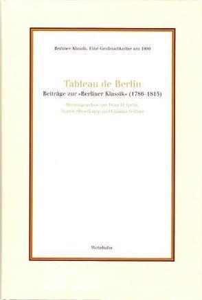 Tableau de Berlin von D'Aprile,  Iwan, Disselkamp,  Martin, Sedlarz,  Claudia