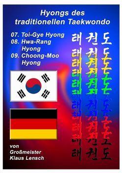 Taekwondo Hyongs / Taekwondo Hyongs 7 bis 9 von Lensch,  Klaus
