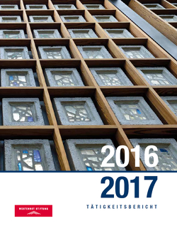 Tätigkeitsbericht 2016/2017 von Kurz,  Philip, Schäfer,  Nadine, Schielke,  Joachim E