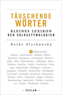 Täuschende Wörter von Olschansky,  Heike