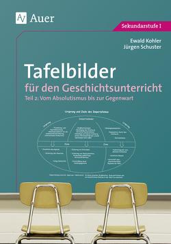 Tafelbilder für den Geschichtsunterricht, Teil 2 von Kohler,  Ewald, Schuster,  Jürgen
