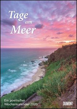 Tage am Meer Wochenkalender 2020 – Wandkalender – Format 21,0 x 29,7 cm von DUMONT Kalenderverlag, Fotografen,  verschiedenen