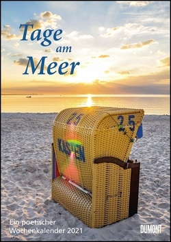 Tage am Meer Wochenkalender 2021 – Wandkalender – Format 21,0 x 29,7 cm