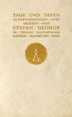 Tage und Taten von George,  Stefan
