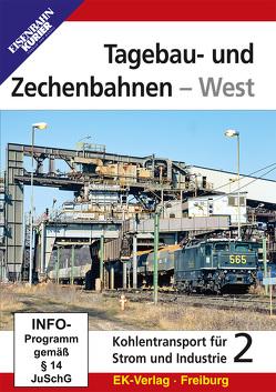 Tagebau- und Zechenbahnen – West