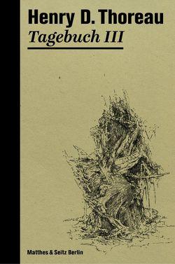 Tagebuch III von Schmidt,  Rainer G, Schulz,  Dieter, Thoreau,  Henry David