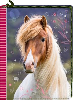 Tagebuch mit Reißverschluss – Pferdefreunde von Slawik,  Christiane