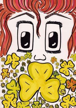 Tagebuch – Neugierde macht Wissen / Sei dein eigener Glücksmagnet – Mädchencover von Elvers,  Saskia Francoise