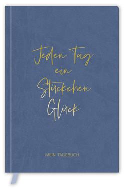 Tagebuch Soft Touch blue von Korsch Verlag