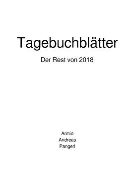 Tagebuchblätter von Pangerl,  Armin