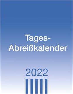 Tagesabreißkalender klein Kalender 2022 von Heye