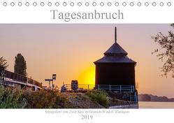 Tagesanbruch am Rhein (Tischkalender 2019 DIN A5 quer) von Kiss,  Zsolt