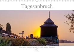 Tagesanbruch am Rhein (Wandkalender 2021 DIN A3 quer) von Kiss,  Zsolt