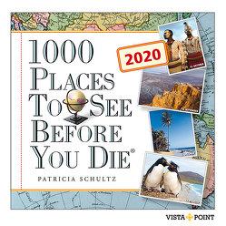 Tageskalender 2021 – 1000 Places To See Before You Die von Schultz,  Patricia