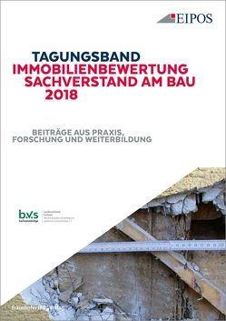 Tagungsband Immobilienbewertung und Sachverstand am Bau 2018.