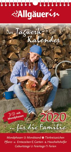 """Tagwerk-Kalender für die Familie """"Die Allgäuerin"""""""