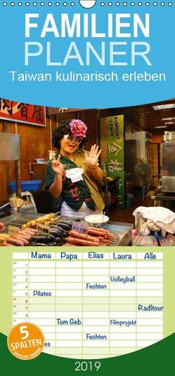 Taiwan kulinarisch erleben – Familienplaner hoch (Wandkalender 2019 , 21 cm x 45 cm, hoch) von Schiffer,  Michaela