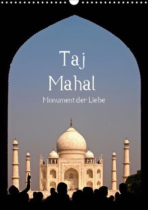 Taj Mahal – Monument der Liebe (Wandkalender 2020 DIN A3 hoch) von - Carina Buchspies,  Sichtweisen