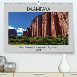 Talampaya Weltnaturerbe-Nationalpark in Argentinien (Premium, hochwertiger DIN A2 Wandkalender 2021, Kunstdruck in Hochglanz) von Spiller,  Antonio