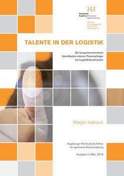 Talente in der Logistik von Isaković,  Marjan, Krupp,  Michael, Peter,  Richard, Waibel,  Florian