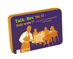 Talk-Box Vol. 13 – Echt wahr?! von Filker,  Claudia, Schott,  Hanna, Schweitzer-Herbold,  Almut