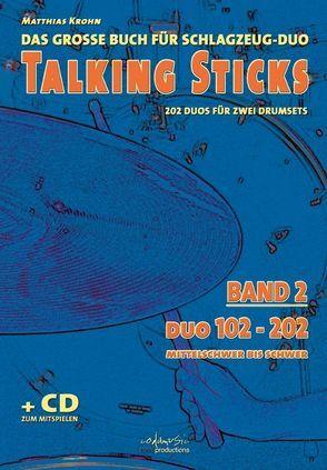 Talking Sticks. Band 2 von Krohn,  Matthias