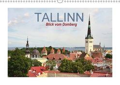 Tallinn Blick vom Domberg (Wandkalender 2018 DIN A3 quer) von Schwarze,  Nina