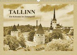 Tallinn – Ein Kalender im Zeitungsstil (Wandkalender 2019 DIN A3 quer) von Kirsch,  Gunter