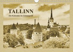 Tallinn – Ein Kalender im Zeitungsstil (Wandkalender 2019 DIN A4 quer) von Kirsch,  Gunter