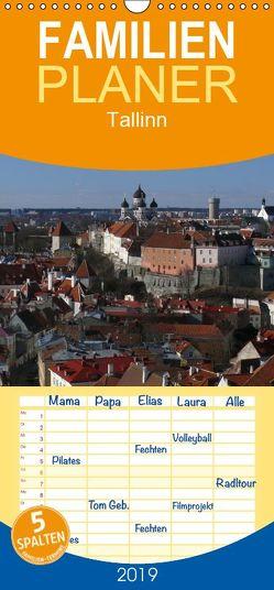 Tallinn – Familienplaner hoch (Wandkalender 2019 , 21 cm x 45 cm, hoch) von M. Laube,  Lucy
