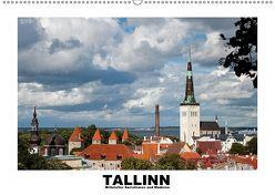 Tallinn – Mittelalter, Sozialismus und Moderne (Wandkalender 2019 DIN A2 quer) von Hallweger,  Christian
