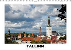 Tallinn – Mittelalter, Sozialismus und Moderne (Wandkalender 2019 DIN A3 quer) von Hallweger,  Christian