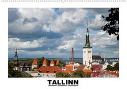 Tallinn – Mittelalter, Sozialismus und Moderne (Wandkalender 2020 DIN A2 quer) von Hallweger,  Christian