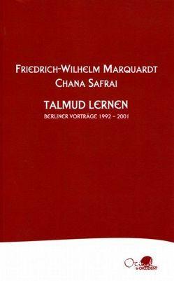 Talmud lernen von Koeppler,  Daniela, Marquardt,  Friedrich-Wilhelm, Pangritz,  Andreas, Safrai,  Chana