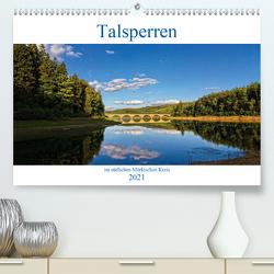 Talsperren im südlichen Märkischen Kreis (Premium, hochwertiger DIN A2 Wandkalender 2021, Kunstdruck in Hochglanz) von / Detlef Thiemann,  DT-Fotografie