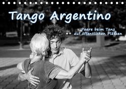 Tango Argentino – Paare beim Tanz auf öffentlichen Plätzen (Tischkalender 2019 DIN A5 quer) von Hoffmann,  Klaus