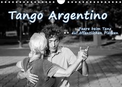 Tango Argentino – Paare beim Tanz auf öffentlichen Plätzen (Wandkalender 2019 DIN A4 quer) von Hoffmann,  Klaus