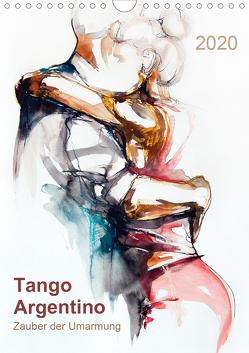 Tango Argentino – Zauber der Umarmung (Wandkalender 2020 DIN A4 hoch) von Schmidt,  Evelyn