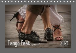 Tango feetAT-Version (Tischkalender 2021 DIN A5 quer) von / Alessandra & Peter Seitz,  werk-2