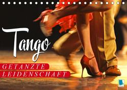 Tango – Getanzte Leidenschaft (Tischkalender 2020 DIN A5 quer) von CALVENDO