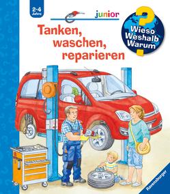 Tanken, waschen, reparieren von Nahrgang,  Frauke, Weller,  Ursula