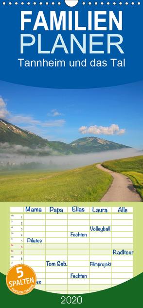 Tannheim und das Tal – Familienplaner hoch (Wandkalender 2020 , 21 cm x 45 cm, hoch) von Gierok,  Steffen