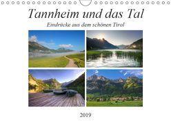 Tannheim und das Tal (Wandkalender 2019 DIN A4 quer) von Gierok,  Steffen