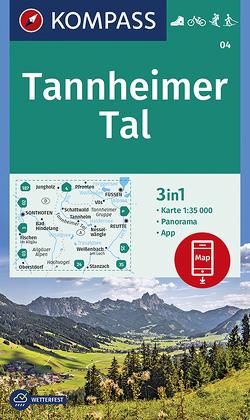 Tannheimer Tal von KOMPASS-Karten GmbH