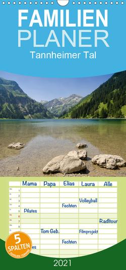 Tannheimer Tal – Familienplaner hoch (Wandkalender 2021 , 21 cm x 45 cm, hoch) von Schmidt,  Bernd